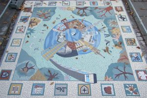 South Norwood Library Mosaic
