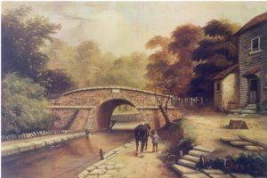 The London to Croydon canal